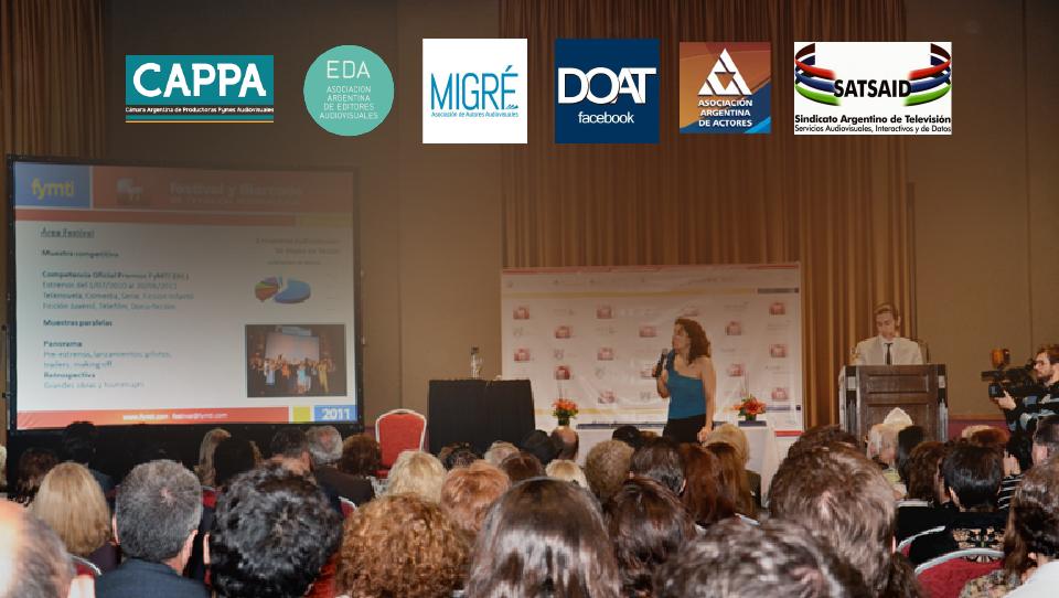 Charla sobre TV Argentina / EDA en el FyMTI 2014