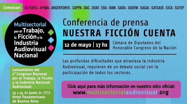 Conferencia de prensa: «Nuestra ficción cuenta»